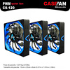 ALSEYE 3piece 120mm PWM Computer Fan Cooler 12v 4pin 500 2000RPM Silicone Silent Fan For Computer