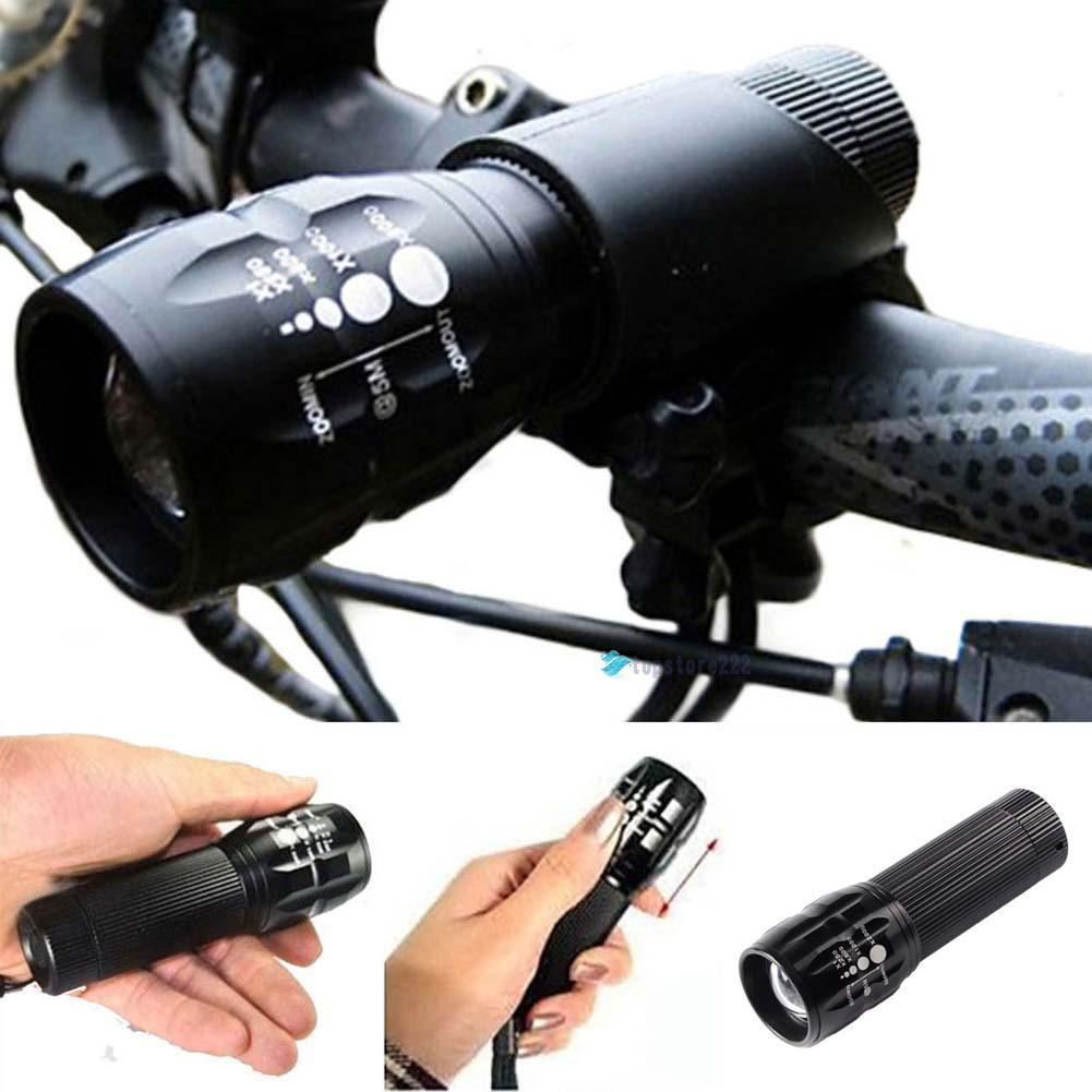7 Watt 1200 Lumens 3 Mode Sepeda Light Q5 LED Sepeda bersepeda Lampu Depan Torch Waterproof + Torch Holder Fashlight
