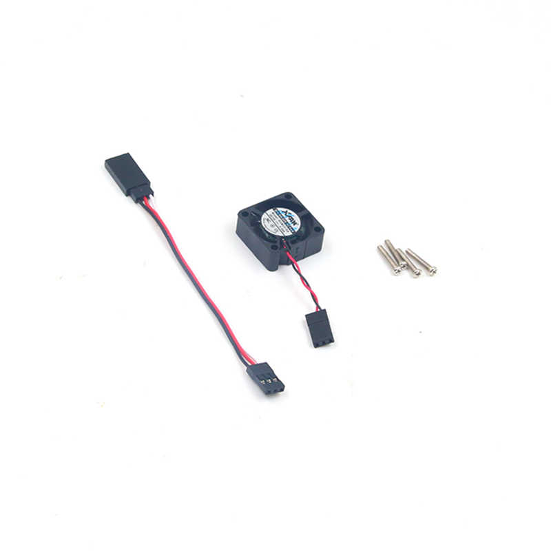FATJAY 5-12V ESC fan 25*25*10mm 2-3S lipo for HobbyWing QUICRUN-30A EZRUN-35A/60A series RC brushless speed controller