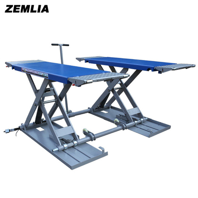 3t Middle Position Small Car Lift Hydraulic Ultrathin Lift Machine
