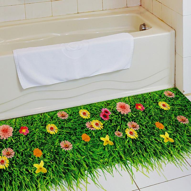 [SHIJUEHEZI] Sticker për dyshekët e lëndinëve të luleve DIY - Dekor në shtëpi - Foto 5