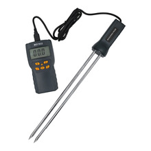 MD7822 Digital LCD display Grain Hygrometer Thermometer Moisture Meter Humidity Temperature Tester for Wheat Corn Rice 40% off