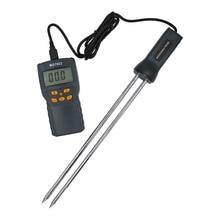 MD7822 الرقمية شاشة الكريستال السائل الحبوب الرطوبة ميزان الحرارة مقياس الرطوبة الرطوبة جهاز قياس درجة الحرارة ل القمح الذرة الأرز 40% off
