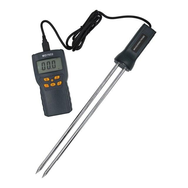 Цифровой гигрометр MD7822 с ЖК дисплеем, термометр, измеритель влажности для зерна, пшеницы, кукурузы, риса, Скидка 40%