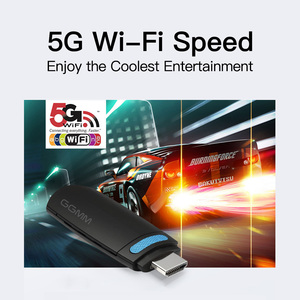 Image 3 - GGMM Miracast bâton de télévision Android Dongle WiFi sans fil Mini HDMI TV Tuner 5G/2.4G DLNA AirPlay diffusion bâton de télévision pour ios YouTube