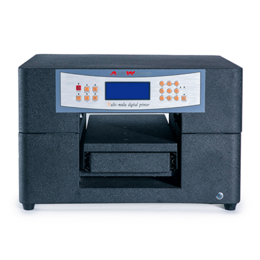 Uv Mini Flatbed Printer For For Metal Ceramic Glass Wood Plastic Pvc