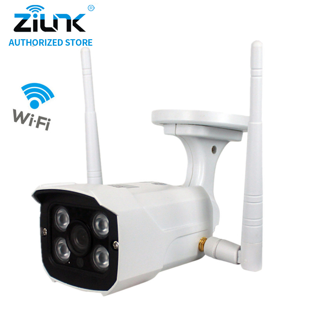 ZILNK 720P Bullet 960P Wireless IP Camera WiFi Home Security HD CCTV Night Vision Double Antenna SD Card Onvif Motion Detection zilnk video intercom hd 720p wifi doorbell camera smart home security night vision wireless doorphone with indoor chime silver