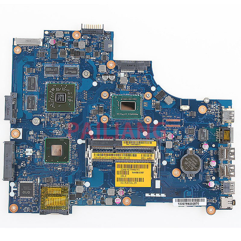 Laptop motherboard para DELL 15R PAILIANG 3521 5521 pc Mainboard I5-3337U 0P14T7 VAW01 LA-9101P VAW00 DDR3 LA-9104P totalmente testado