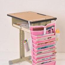 Толстый многофункциональный стол для хранения артефакт висячая сумка регулируемый стол для студентов стойка для хранения книг сумка для хранения