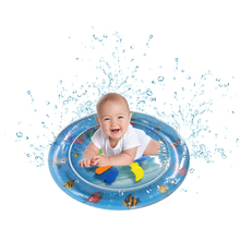 PVC Garden Sprinkle Splash Play Mat Inflatable Water Spray Camping Mats Kids Baby Pool Pad Summer Fun Beach Outdoor