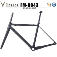 NEW Carbon Fiber Road Bicycle Frame BSA Chinese Road Bike Frame With Fork Clamp Headse F08