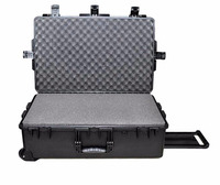 Tricases factory hard plastic large suitcase trolley tool case with cube foam M2950 ,waterproof,shockproof.