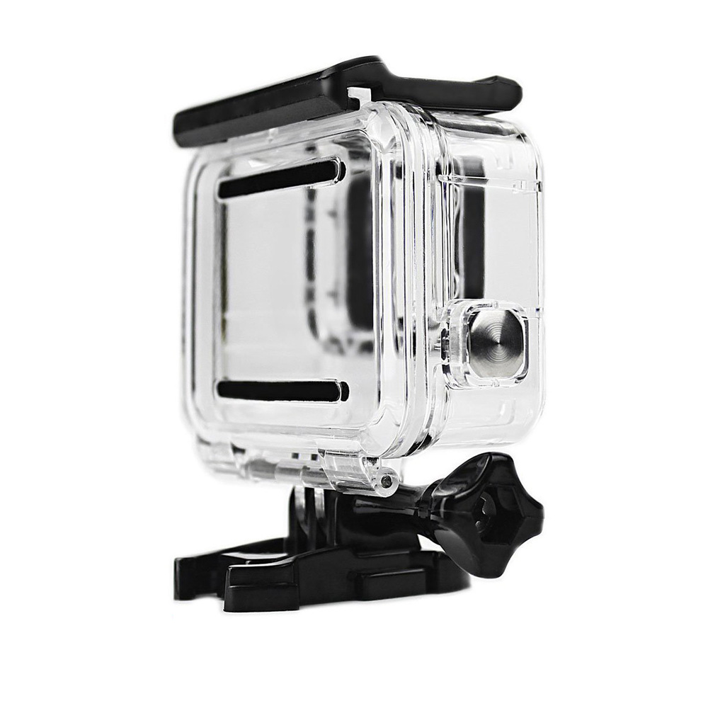 Image 2 - Clear Underwater Housing for Gopro Hero 5 6 with Anti Fog Inserts Protective Waterproof Dive Shell 40m Deep Water Scuba Case-in Sports Camcorder Cases from Consumer Electronics