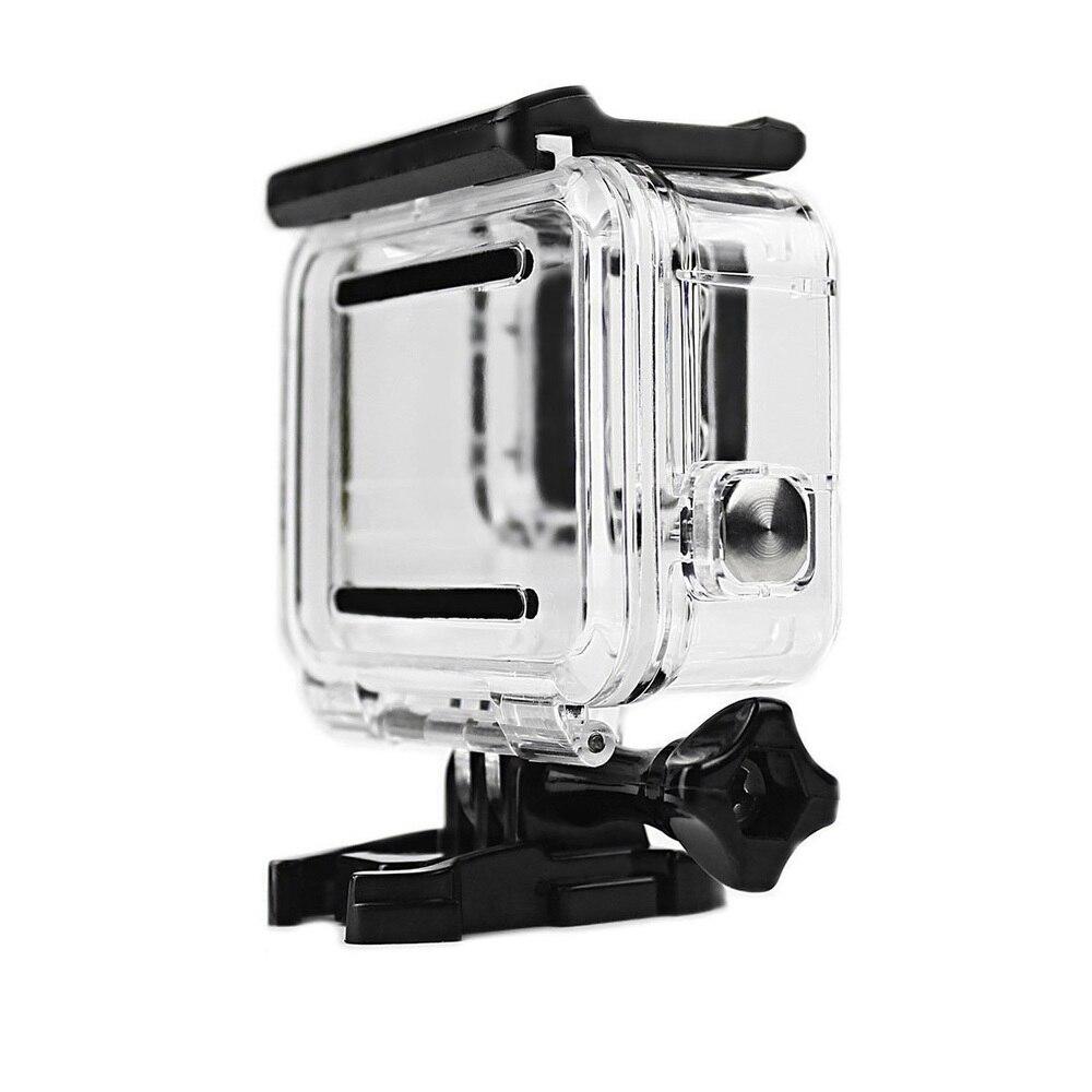 Image 2 - Прозрачный подводный Корпус для Gopro Hero 5 6 с противотуманными вставками защитный водостойкий погружной корпус 40 м глубокий водный чехол для подводного плавания-in Чехлы для спортивных видеокамер from Бытовая электроника