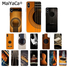 MaiYaCa Guitares Baixo Cordas Da Guitarra Da Música Instrumento Unique Luxury Tampa Do Telefone para o iphone 11 pro 8 7 66S Plus 5S SE MAX XR X XS(China)