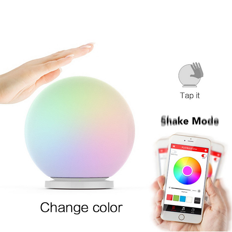 MIPOW PLAYBULB Sphere Smart Color Changing Waterproof Dimmable LED Glass Orb Lig