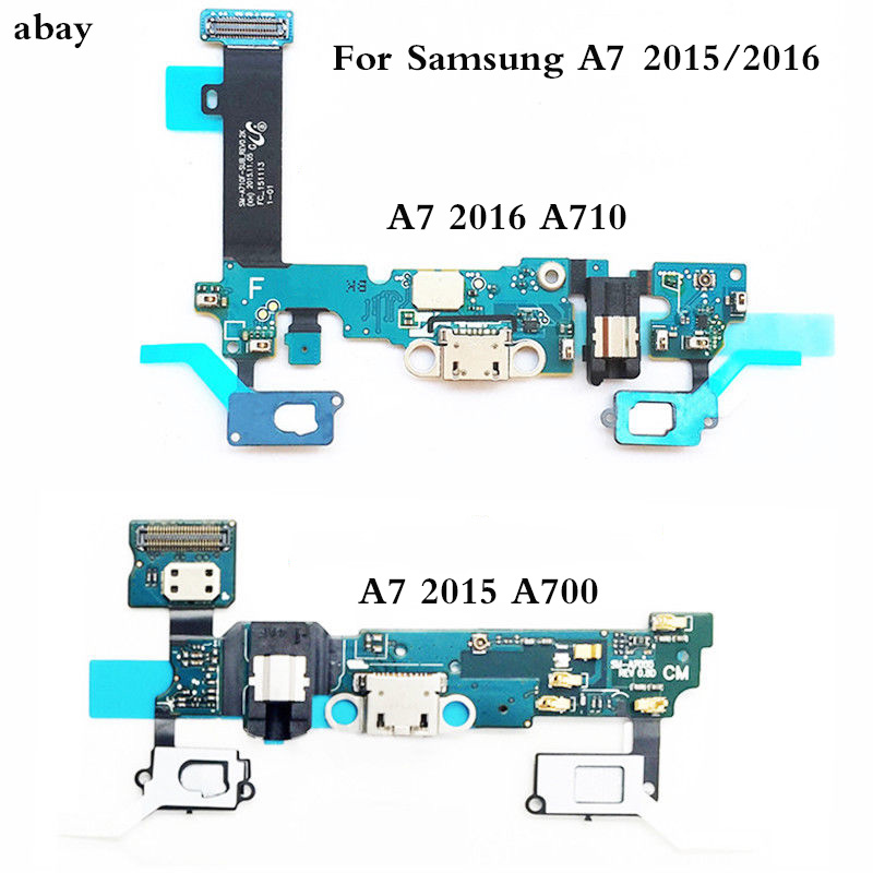 New Charging Connector For Samsung Galaxy A7 2015 2016 A700F A710F Charger USB Dock Port Flex Cable Replacement Parts