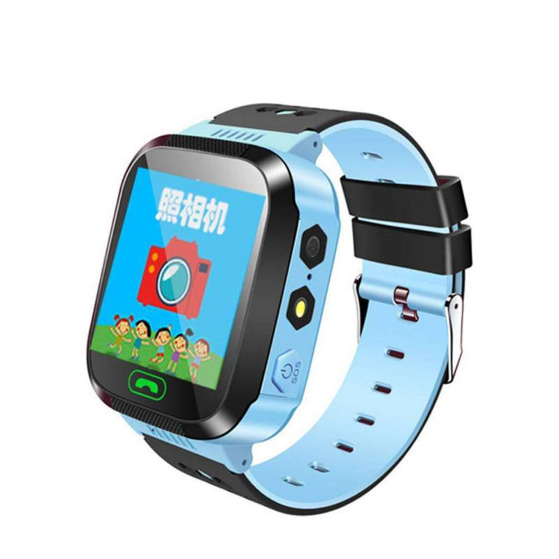 Baby Smart Watch With Touch Screen Camera Wristwatch GPS Locator SOS Call Smartwatch Anti Lost English Russian Language 8