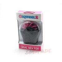 Adulte de sexe jouets de sexe Oral simulateurs Sqweel 2 avec 10 langues clapotis de silicone, masturbation féminine orgasme Clitoridien massage