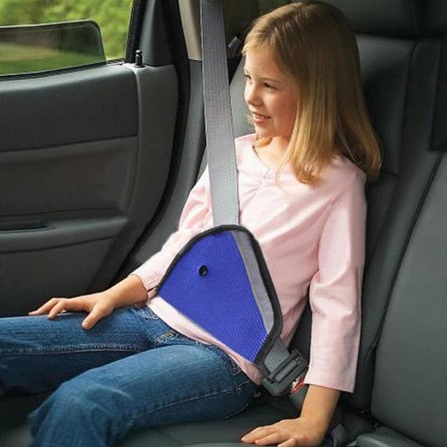 Baby Kids Car Safety Cover Shoulder Harness Strap Adjuster Seat Belt