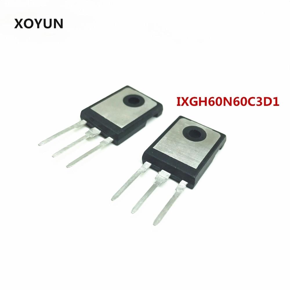 10 pieces/lot IXGH60N60C3D1  TO-247 IGBT600V 60A