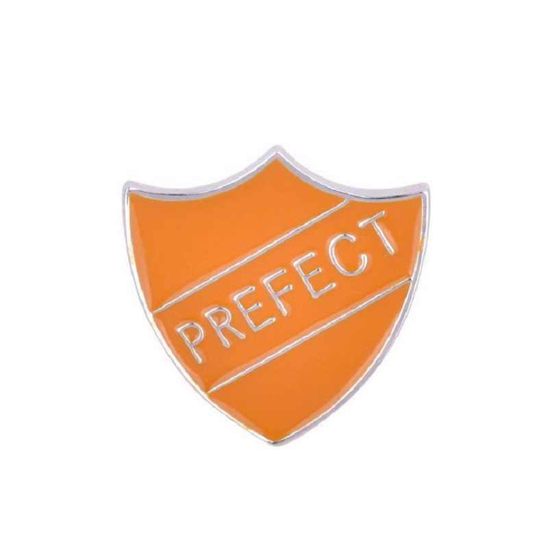 ใหม่แฟชั่นสีเขียว/สีฟ้า/สีส้ม/สีแดง Shield เข็มกลัด Pins อินเทรนด์นายอำเภอสัญลักษณ์ Armband Badge ให้ของขวัญผู้ชายและผู้หญิง