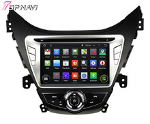 Quad Core Android 4.4.4 Car Dvd Player For Elantra/Avante/I35 2011 2012 2013 With 16GB Flash Mirror Link GPS Map Free Shipping