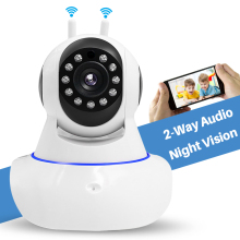 1080P Wireless Security Surveillance Wifi IP Camera for Elder/Pet/Nanny/Baby Monitor with Two Way Audio Pan/Tilt IR Night Vision