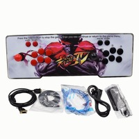 Box 6S 1388 in 1 Arcade Game Console for TV PC PS3 Monitor Support HDMI VGA USB with pause function arcade pandora box