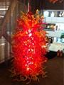 Модный новый стиль OEM  современный напольный светильник из выдувного боросиликатного стекла с большой скульптурой