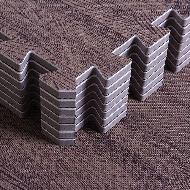 Деревянные зерна детские игры головоломки коврик для детской комнаты пол головоломки детские развивающие пена eva квадратный ползающий ковер головоломки 31 см
