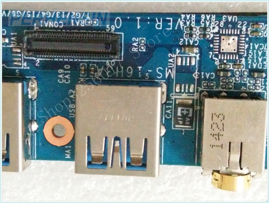 Original Genuine laptop FOR MSI MS-16H31 MS-16H3 MS-16H3A USB AUDIO BOARD