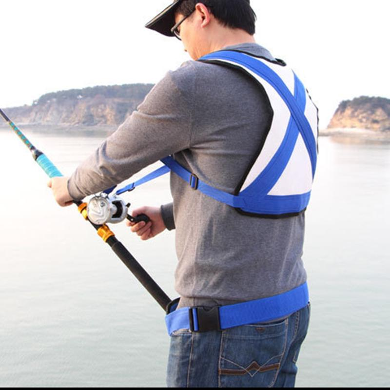39cm*49cm Fishing Belt Trolling Jigging Fishing Rod Waist Protecting Vest Protecting Holder Gimbal Fishing Tools&accessoris Fishing Sports & Entertainment