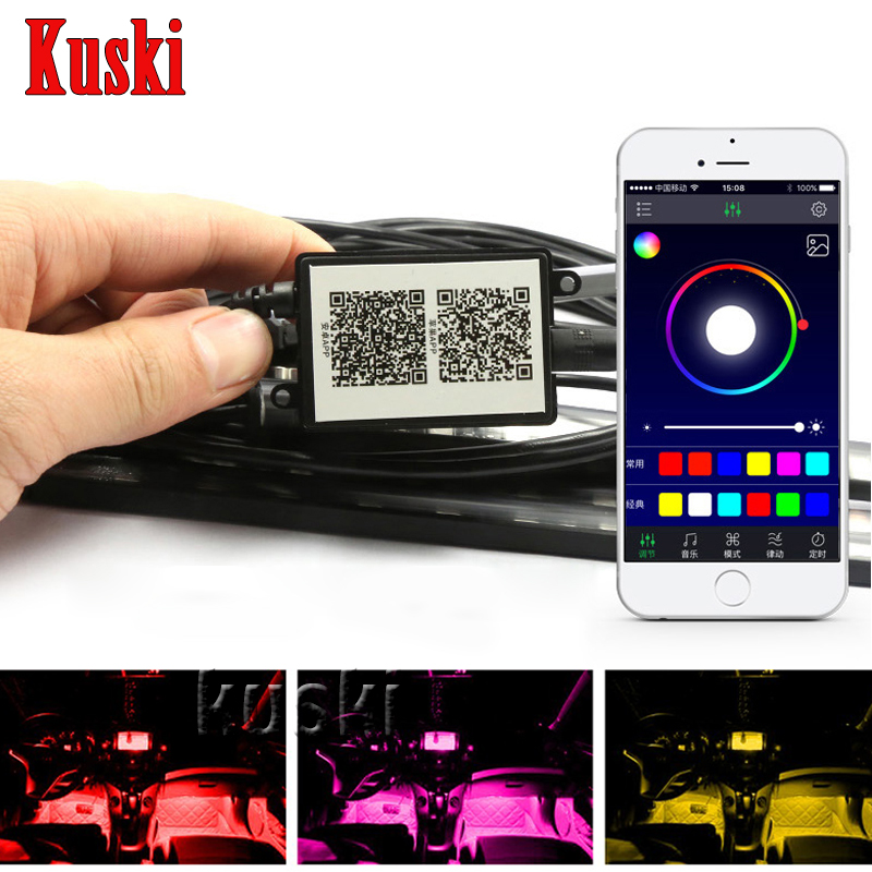 Car Atmosphere Lamp For APP Control For Porsche 911 Cayenne Macan For Jaguar XE XF XJ For Infiniti q50 FX35 G35 G37 Accessories фаркоп porsche macan 2013 без электрики фаркоп porsche macan 2013 без электрики 2 ро