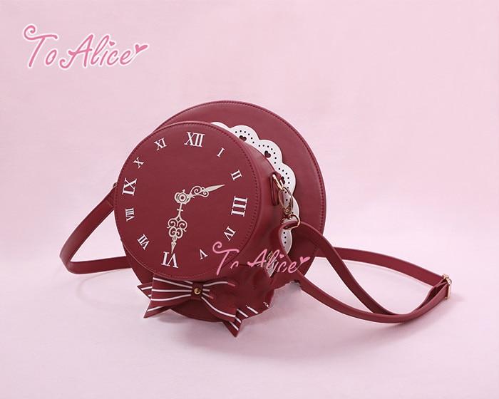 Princess sweet lolita bag To Alice Original time travel British Wind hat slanted across the shoulders fashion bag BAG196