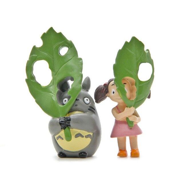 Bayi mainan Hayao Miyazaki Raksasa Kucing Peas Naga Tangan memegang besar  hijau daun plum aksi   3926d87e60