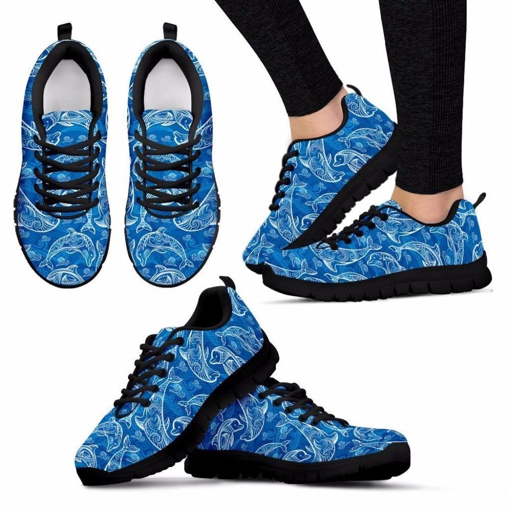 FORUDESIGNS/дамские туфли на плоской подошве Обувь с дышащей сеткой кроссовки для девочек-подростков летние Нескользящие Туфли без каблуков Dophin ...