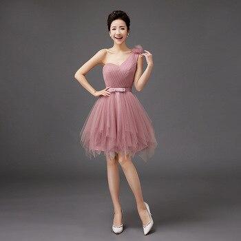 45485a3aaf77 Shanghai Story 2019 nueva llegada vestido de moda vestido Sexy de un hombro  vestido de Coctail para vestidos de fiesta de mujer