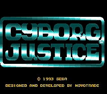 Cyborg Justice 16 bit MD Game Card For Sega Mega Drive For Genesis