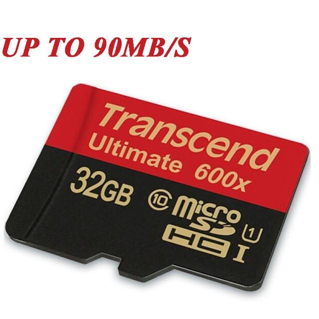Transcend Sealed Настоящее 600X16 GB 32 ГБ MicroSD MicroSDHC MicroSDXC Micro SD SDHC SDXC Карты 90 МБ/С. class 10 UHS-1 TF Памяти карты