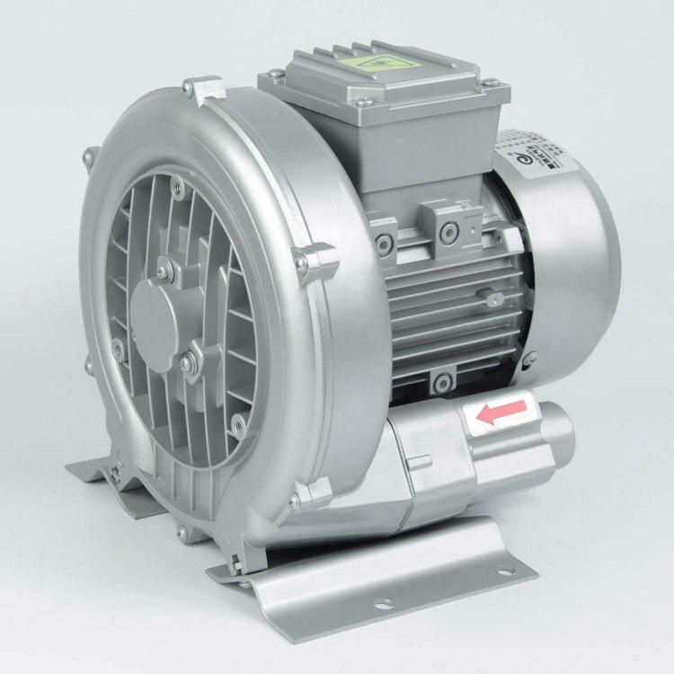 HG-2200 220v 50hz Ring Blower 220V Air Pump CNC Router Vacuum Pump Vortex Pump