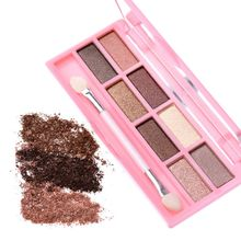 8 colors Shimmer Eyeshadow By Nanda Brand Makeup Palette Lasting Waterproof Multicolor Eyeshadow 9 Styles HM08