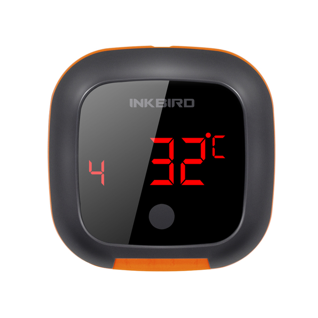INKBIRD IBT 4XS Digital Wireless Bluetooth Cooking Oven BBQ Grilling Thermometer USB rechargable Battery With Two/Four Probes