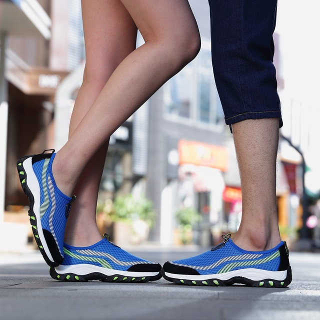 2016 Hotsale Onke Men Women Nice Running Shoes Ladies Breathable Mesh Sneakers Sports Shoes For Men Wearable Super Cool Shoes