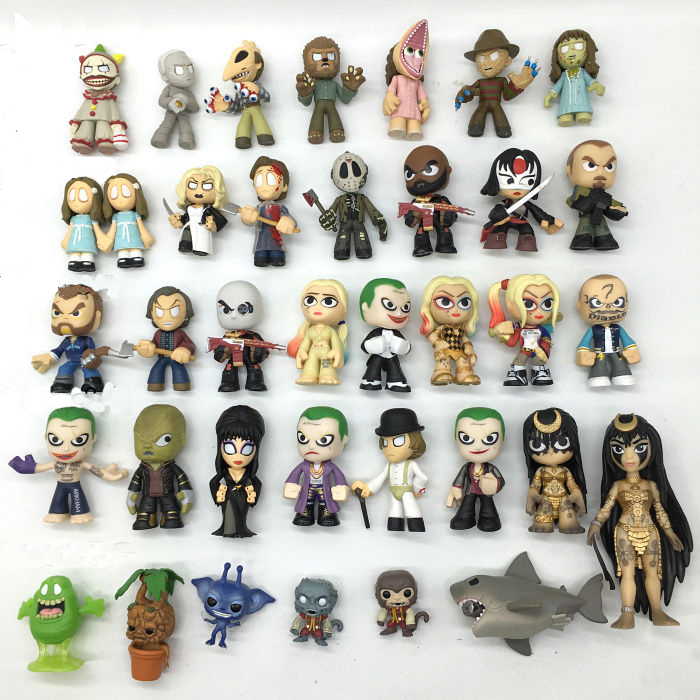 Imperfect Original Funko Mystery Minis : America Horror Story, Suicide Squad Harley Joker, Harry, Mystery Figure Action Figure