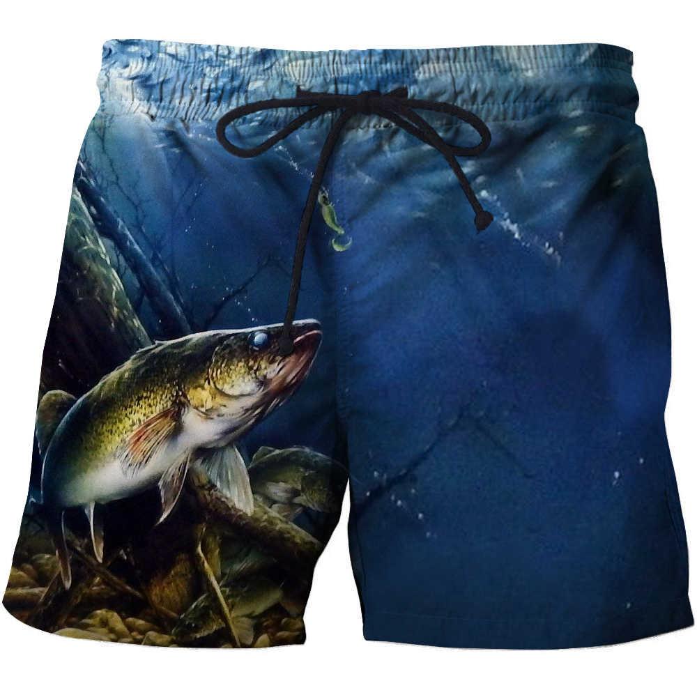 3d pescado secado rápido verano hombre Siwmwear hombre bañador para la playa para hombres nadar bañadores playa shorts de baño desgaste tamaño s-6xl