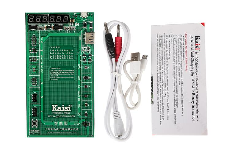 Kaisi K-9208 Battery Activation Charge Board Display Cable Jig For Iphone Huawei Mobile Phones And Ipad Hand & Power Tool Accessories