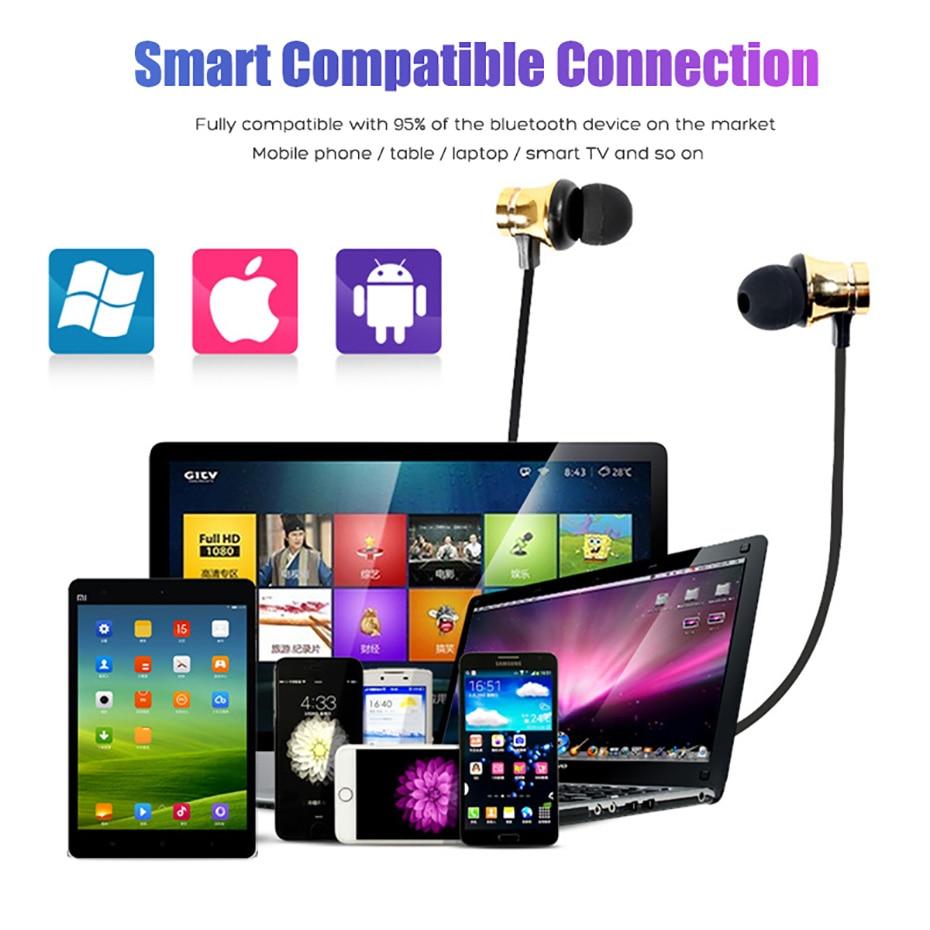 Wireless Headphone Bluetooth Earphone Magnetic Headset Neckband Sport Running Bluetooth Earphones For iPhone 7 X Xiaomi Earphone (15)