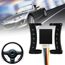 Autoleader Universal Wireless Car Steering Wheel Button DVD GPS Remote Control For Stereo DVD GPS