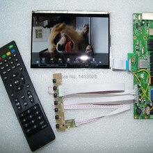ТВ+ USB аудио вход/выход+ AV+ HDMI+ VGA ЖК-плата драйвера+ 7 дюймов ips HSD070PWW01-B01 DIY маленькие ТВ наборы Поддержка функции экрана
